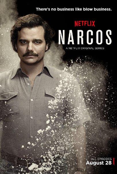 Wagner Moura (Pablo Escobar)