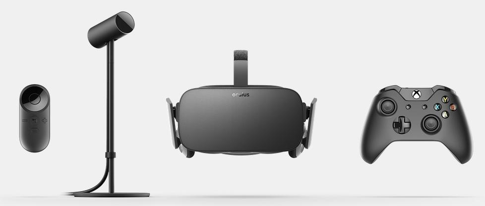 Este es el kit Oculus Rift