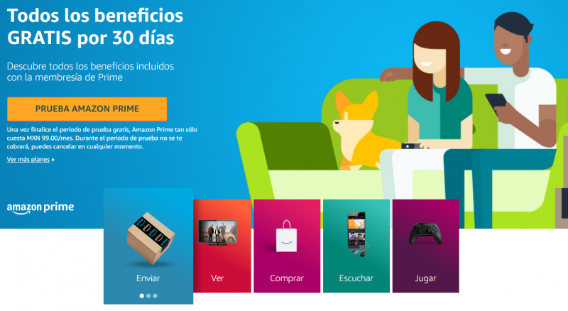 Contratar Amazon Prime es buena idea