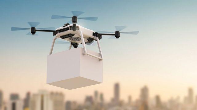 Reparto de Mercancia en Drones